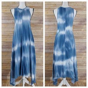 NWT Zara Trafaluc S SMALL Tie Dye Dress